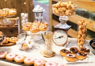 Donuts at weddings | Ben Sasso | blog.theknot.com